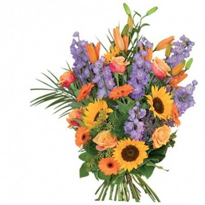 Photo du bouquet de fleurs honores