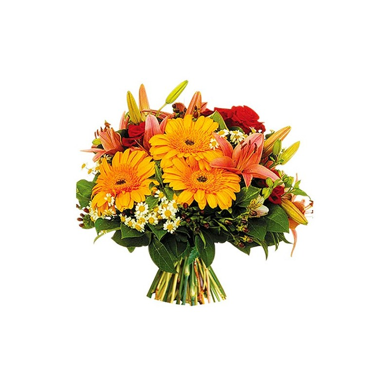 Photo du bouquet de fleurs adeoum