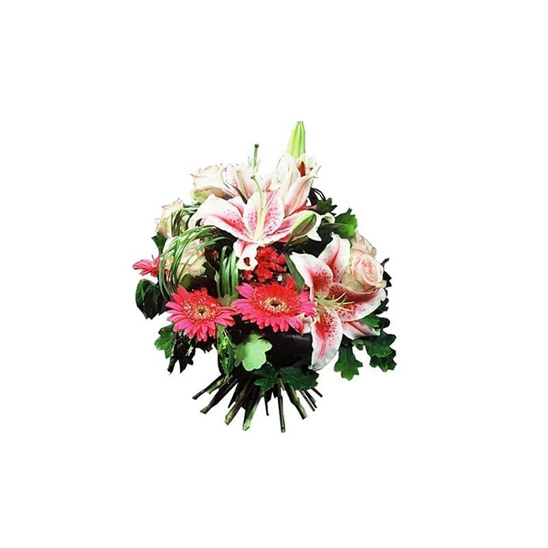Photo du bouquet de fleurs atonia