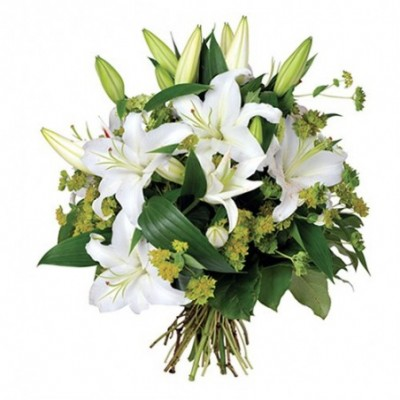 Photo du bouquet de fleurs aquia