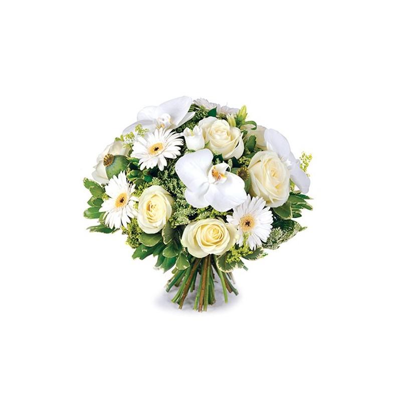 Photo de la composition florale décès quidem