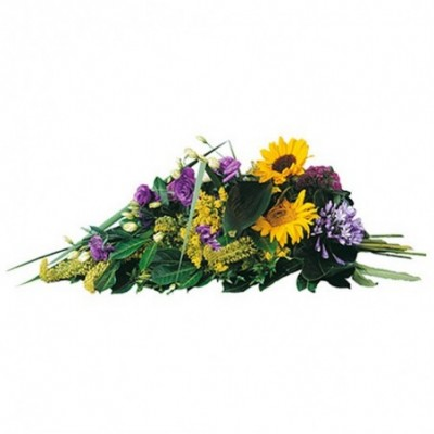 gerbe deuil enterrement Elaeon