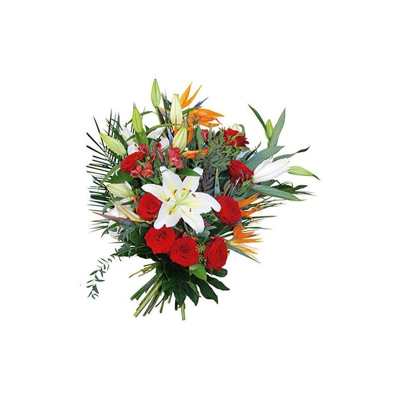 photo bouquet funéraille Poème