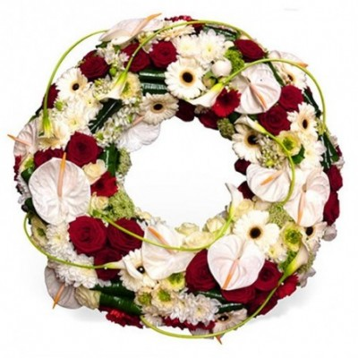 couronne fleurs deuil Morpheus