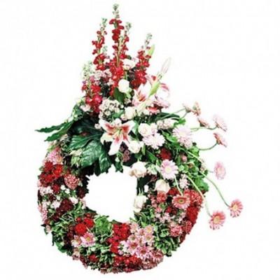 couronne fleurs obseques Etherium