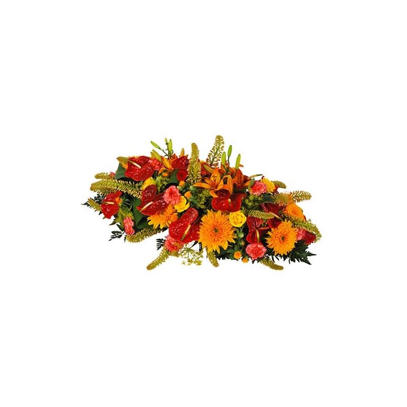 composition florale enterremen Betulla