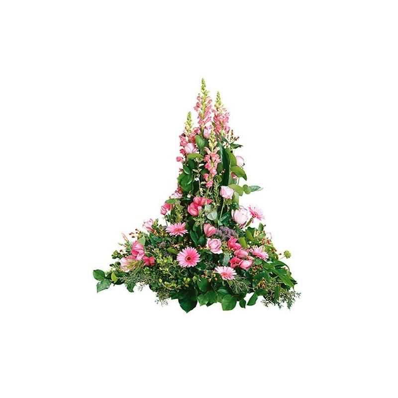 composition florale enterrement Neptune