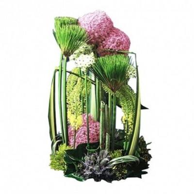 composition florale obseque Révérence
