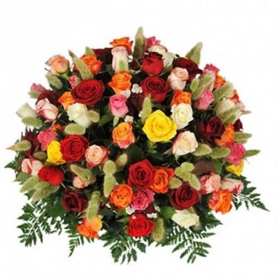 composition florale enterrement Grâce