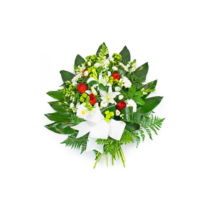 gerbe deuil enterrement